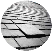 Roof coverings pitch 45 for Slate roof covering